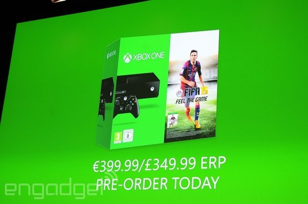 Xbox One 'FIFA 15' bundle coming to Europe September 25