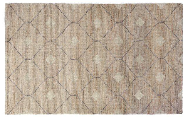 Ashby Wool-Blend Rug, Beige/Gray