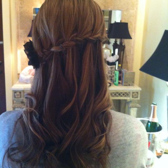Hair for the wedding :)