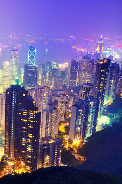 As you step off the Peak Tram at Victoria Peak a sharp intake of breath and bout of sighing over the view will cure the feeling that you left your stomach somewhere down in Central Hong Kong.
