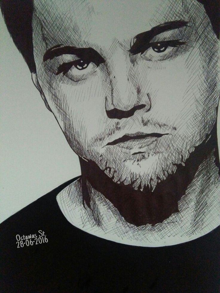 Fan Art Leonardo DiCaprio #octawas #MayDreams #wattpad #Leonardo #DiCaprio #fanart