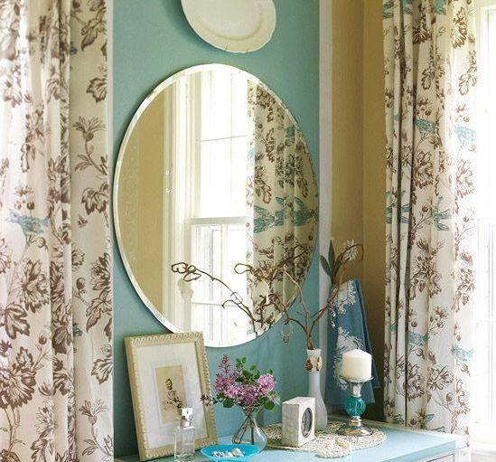 espelho na decor oval