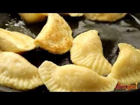 Polish Pierogi - Potato & Cheese Pierogi - Low fat and delicious! - YouTube