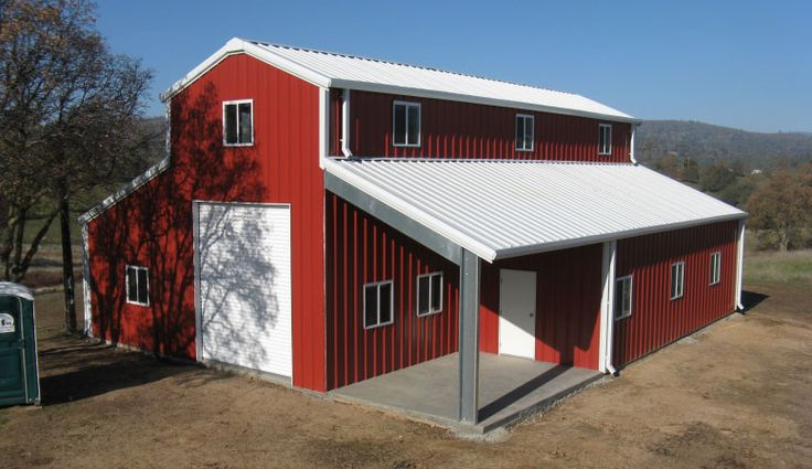 17 best ideas about steel buildings on pinterest morton for Residential pole barn kits