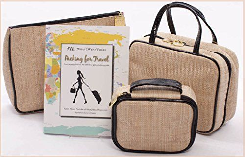 What2WearWhere Travel Bags with Packing for Travel Book ** You can get additional details at the image link.