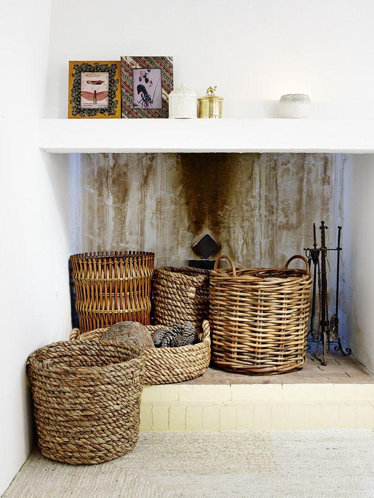 Livingroom Zara Home Summer Home Decor Trends Baskets