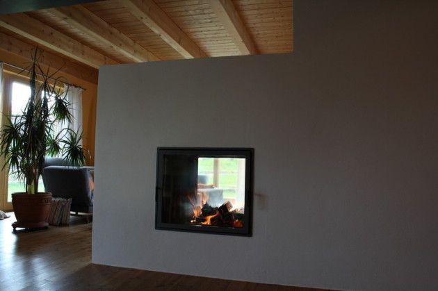 Kachelofenhaus Paulus Grundofen Raumteiler Kamin Ofen