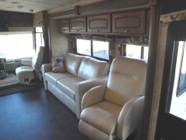 2012 Used Winnebago Sightseer 33C Class A in Florida FL.Recreational Vehicle, rv, Make it a Happy 2016. Always have the luxuries of home with you. Just a great RV. We are the original owners. 2012 Winnebago Sightseer 33C, BELOW NADA PRICE, 3-slideouts. 8692 miles, mostly highway. Full body Toreador paint scheme. Lower front 3M protective mask. 5000-lb towing with Tekonsha Prodigy P2 electronic brake controller. Automatic hydraulic leveling jacks. 22.5 Aluminum wheels. Forest Cherry cabinets…