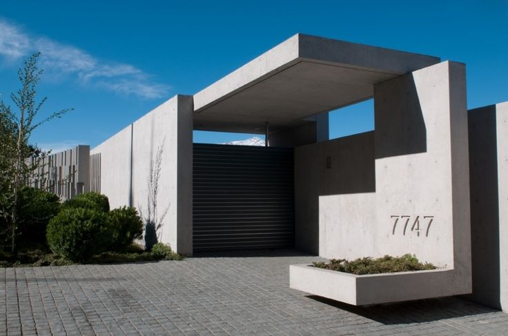 Gallery of zaror house jaime bendersky arquitectos 7 - Arquitectura minimalista ...