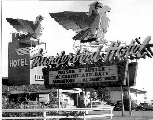 Thunderbird Hotel, 1948