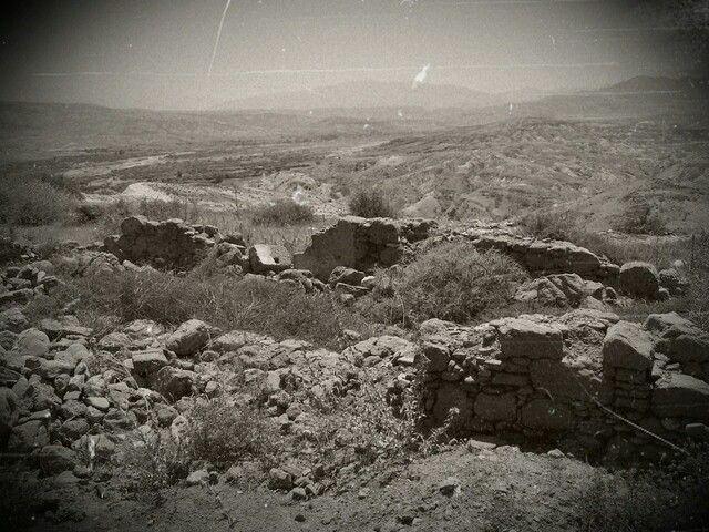 Restos de la posición de Sidi  Dris