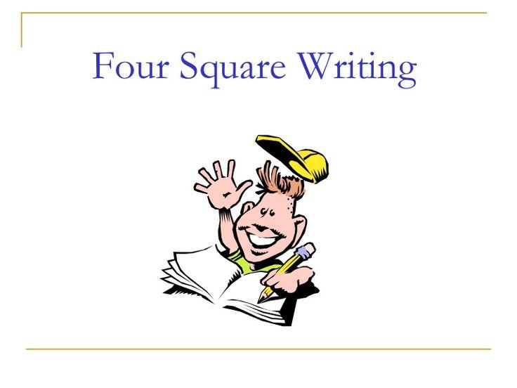 Four square writing slide share presentation