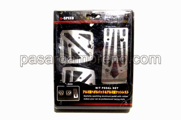 G Speed GS 303 Pedal Set Silver - Pasar Gambreng