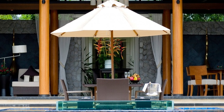 Banyan Tree DoublePool Villas: There's one restaurant on-site; or have your Villa Host arrange for elaborate room service.