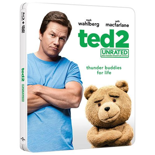 Ted 2 (Unrated) (Steelbook) (Only at Best Buy) (Blu-ray Combo) (2015)