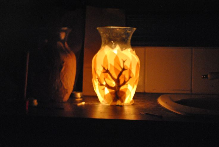 Burning Bush Luminaries for Shavuot DIY Tutorial