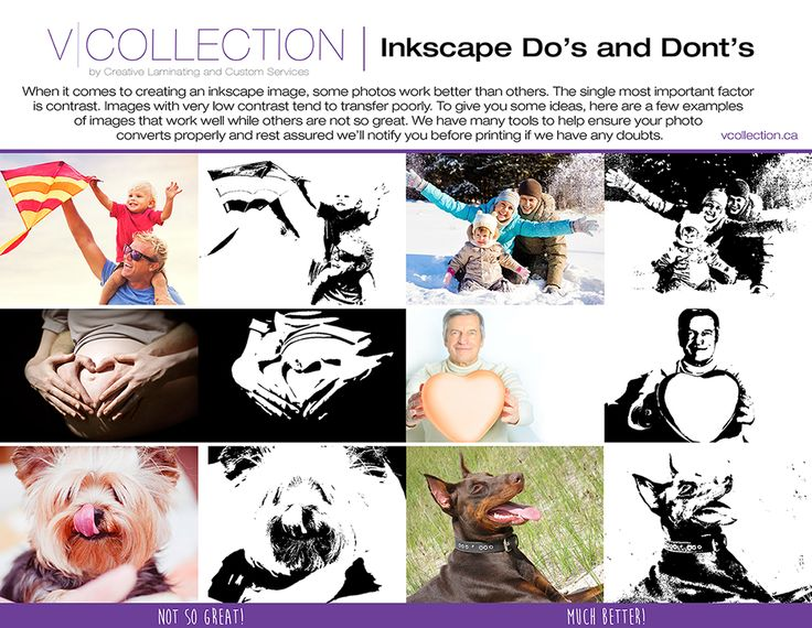vcollection.ca: Inkscape Do's and Dont's