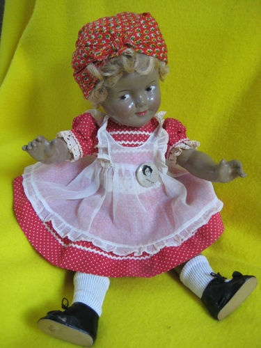 "RARE COMPO SHIRLEY TEMPLE IN BLACKFACE FROM' "" LITTLEST REBEL""Temples Dolls, Temple Littlest Rebel, Shirley Temples, Shirley Temple Littlest"