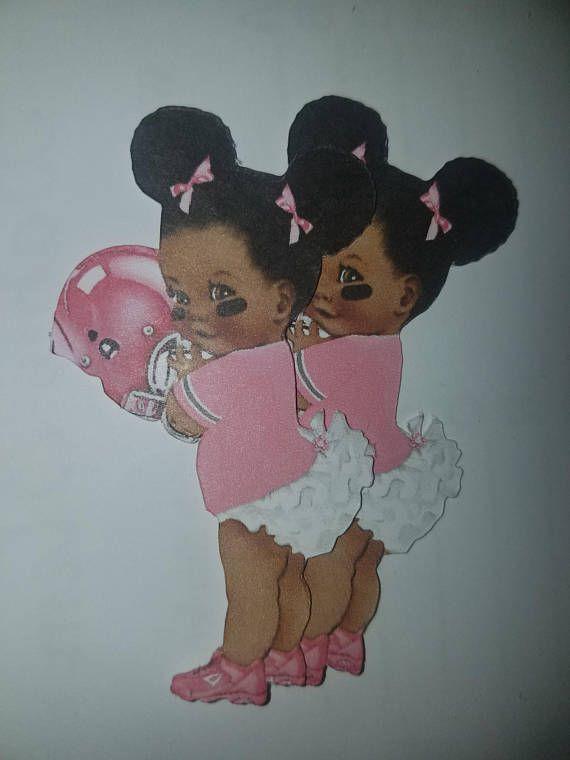 Gender Reveal Twin Babies Standing Football Tutu Cowboy Apple