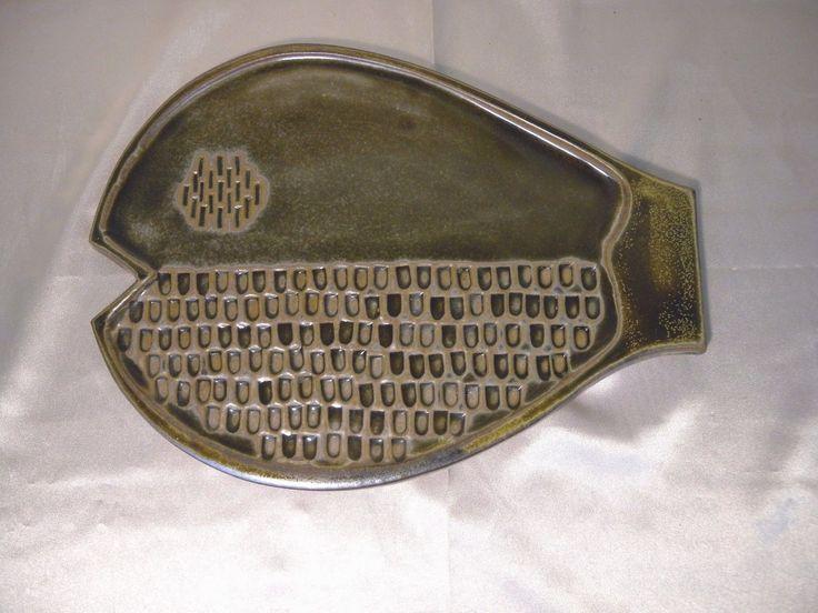 "Bennington Pottery Vermont 12"" Fish Platter Wall Hanging Plaque #1812 c. 1993 | eBay"