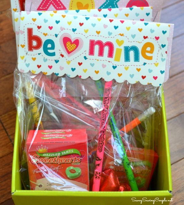 Diy Inexpensive Valentines Day Treat Bags For Under 2 Each