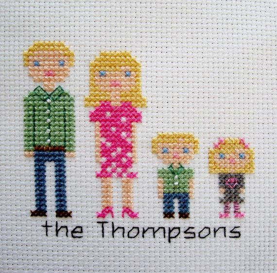 Hey, I found this really awesome Etsy listing at https://www.etsy.com/listing/124725365/completed-custom-family-portrait-in