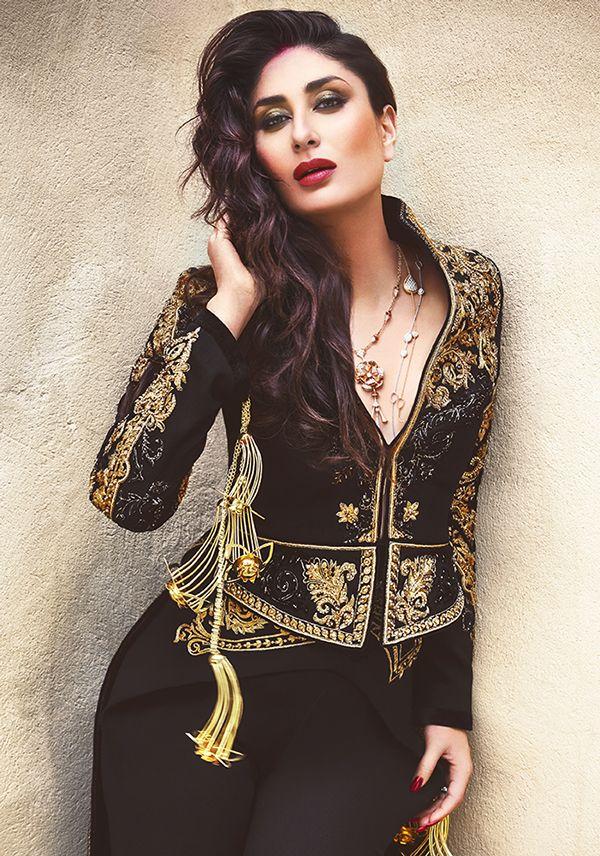 kareena kapoor in a beutiful jacket for vogue india https://www.facebook.com/nikhaarfashions