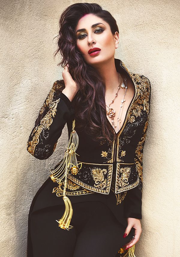 kareena kapoor in a beutiful jacket for vogue india https://www.facebook.com/nikhaarfashions