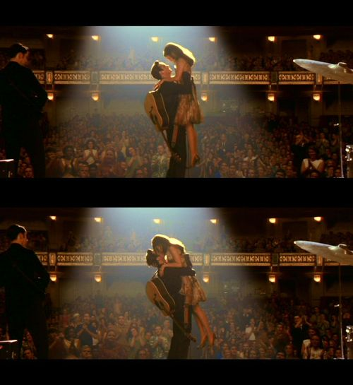 """I'm asking you to marry me. I love you, June. Now I know I said and done a lotta things, that I hurt you, but I promise, I'll never do that again. I only want to take care of you."" - Walk The Line (2005)"