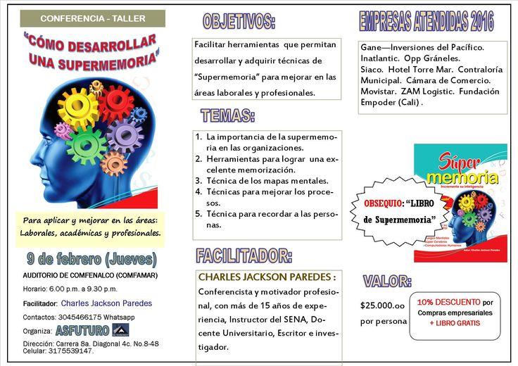 Conferencia de supermemoria en Buenaventura