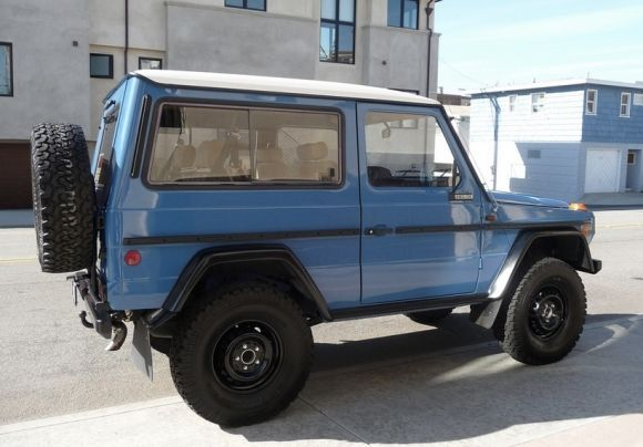 Zero rust G-Wagen. For sale over on Bring a Trailer. Click the pic. to be taken there.
