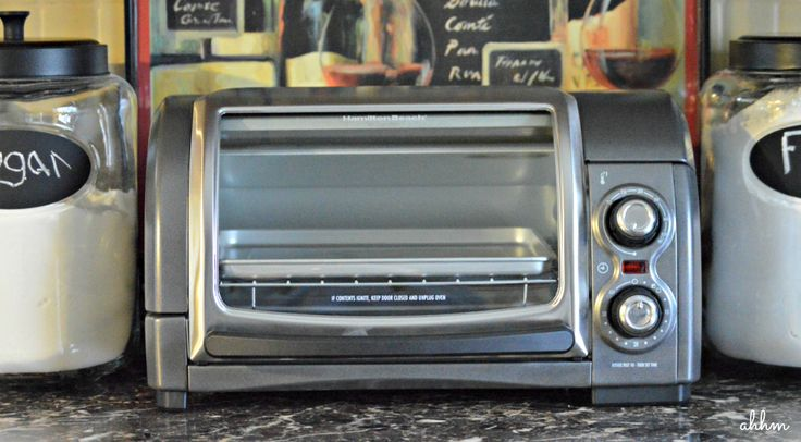 Enter for the chance to win a Hamilton Beach Easy Reach Toaster Oven! #giveaway #easyreach