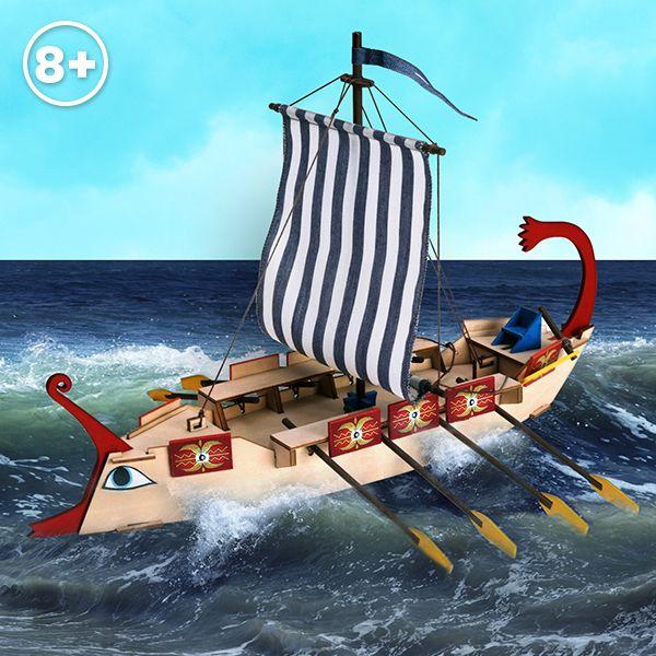 Ave César: Barco Romano // Ave Caesar: Roman Ship