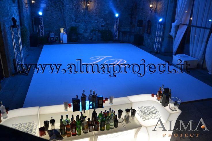 ALMA Project @ Vincigliata - Lighting - Moving Heads - Dancefloor - Courtyard (2)