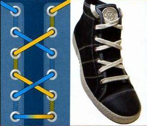 6 способов завязывания шнурков
