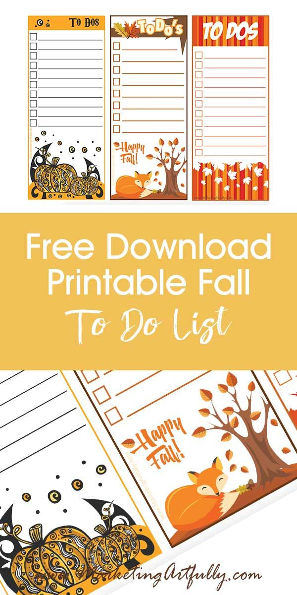 free printable to do lists cute and fun seasonal digital