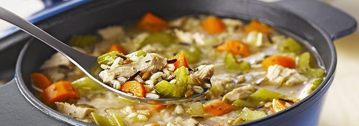 Soupe à la dinde et aux 7 grains