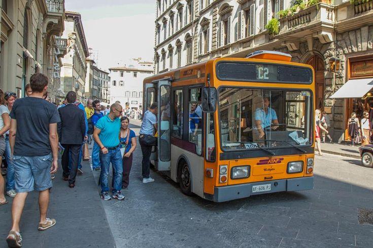 Florence bus. (Photo by Hubert Gajewski)