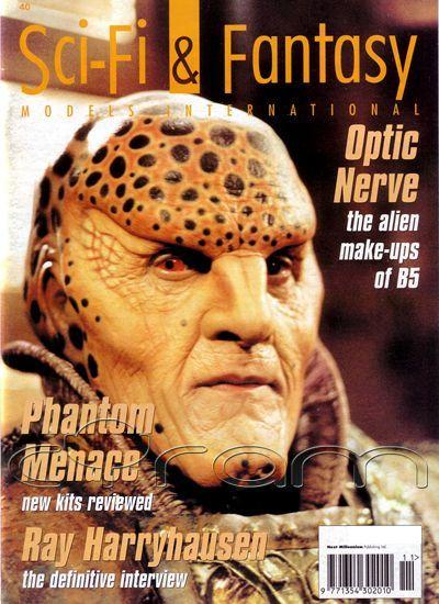Mal etwas anderes: Sci-Fi & Fantasy Models International 40 mit tollen Artikeln zu Babylon 5 und Ray Harryhausen. (http://www.cyram-entertainment.de/shop/products/Buecher-Comics-Magazine/Magazine/Sci-Fi-Fantasy-Models/Sci-Fi-Fantasy-Models-International-40.html)