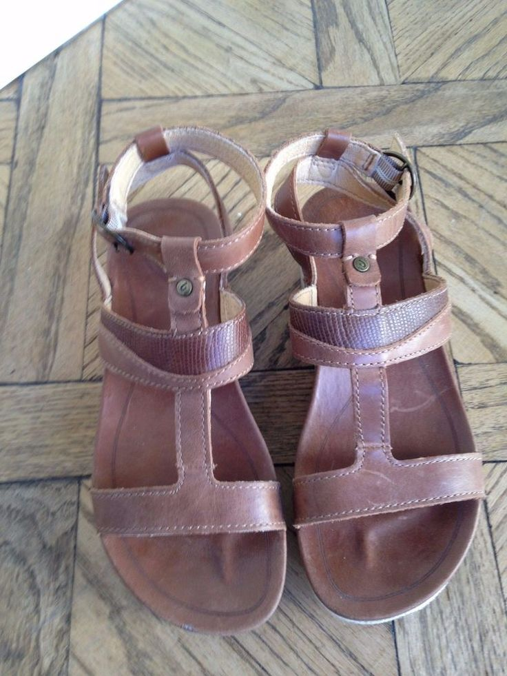 OluKai Sandals Womens Wedge Shoes size 5 #OluKai #PlatformsWedges #Casual