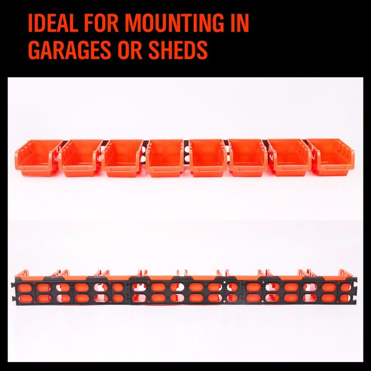 ==> [Free Shipping] Buy Best 8pcs Storage Box for Screws Plastic Stackable Trays 8Pcs a Set Tool Parts Storage Boxall Wall Mounted Storage Bins Rack AD1009 Online with LOWEST Price | 32788190187