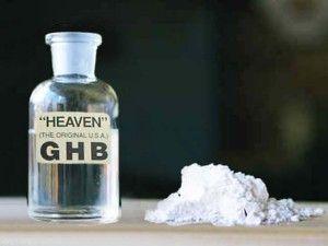 GHB, conocida como la droga de las violaciones (éxtasis líquido)