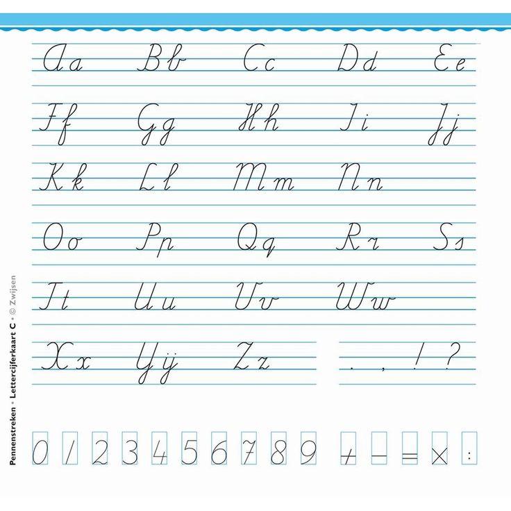 pennenstreken-letter-cijferkaart-c-groep-5-set-30-1.jpg (900×900)