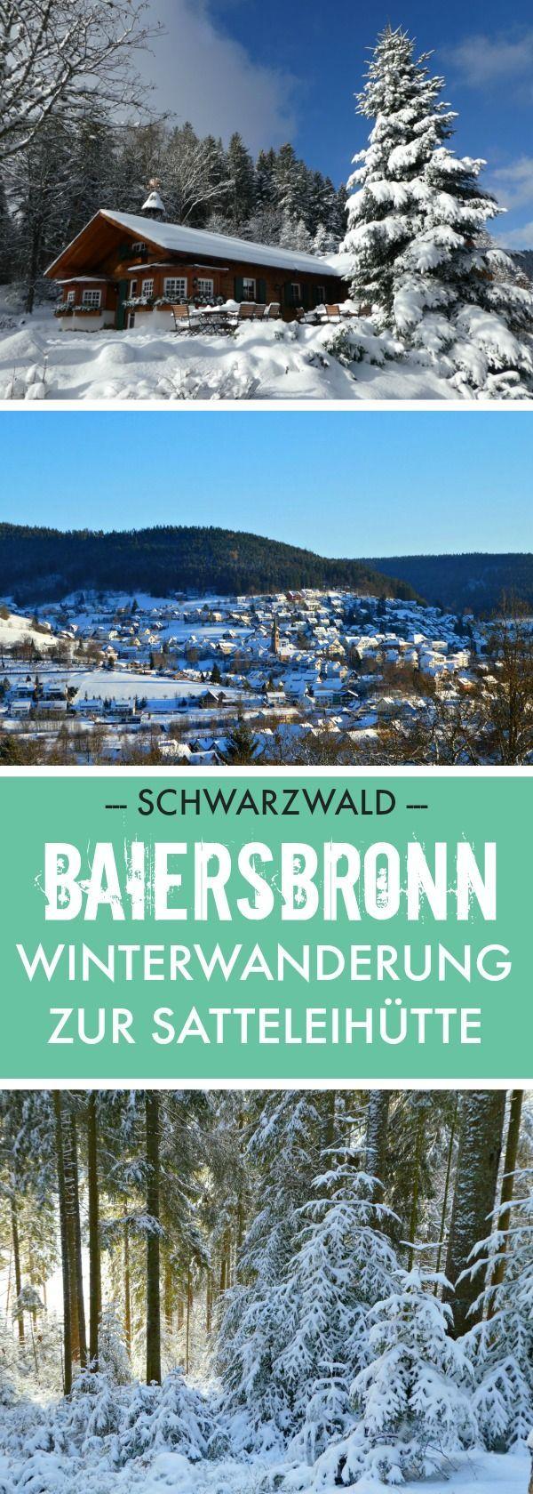 Weiß verschneit zeigt sich der Schwarzwald von seiner romantischen Seite und …   – DEUTSCHLAND I Reiseinspiration