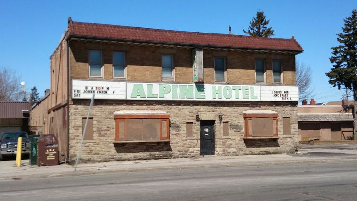 The Alpine!! On Kingston Road. My brother and I played a few games of pool there over the years.
