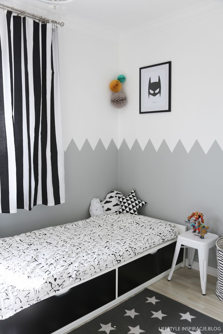 Alan's room - przed i po