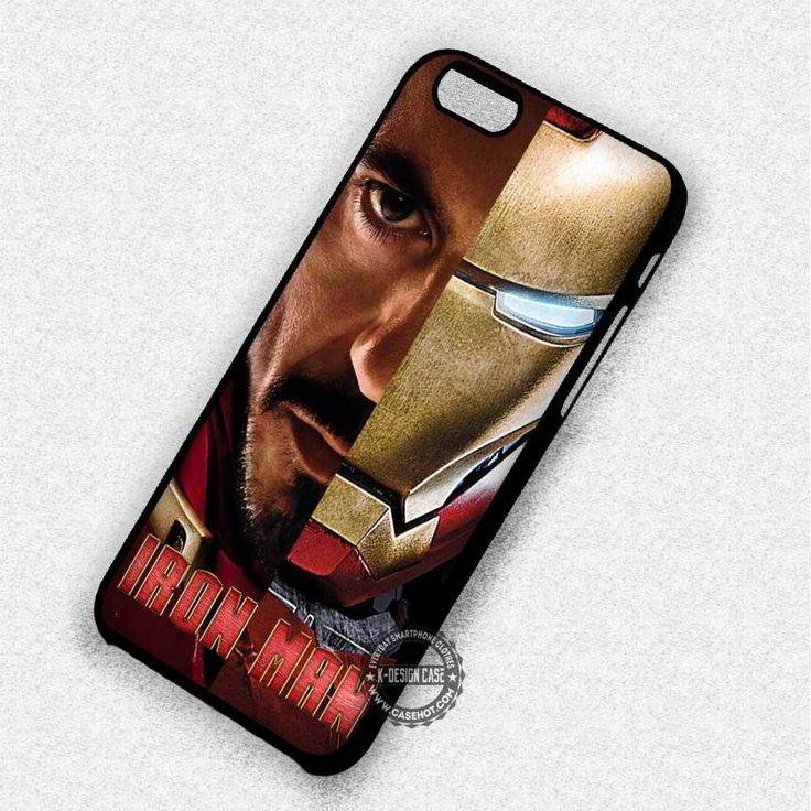 Robert Downey Jr Iron Man - iPhone 7 6S  5C SE Cases & Covers