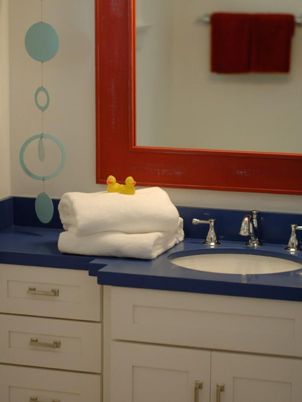 comforts of childhood sing out with super plush towels, bubble-bath details and a beautiful simplicity