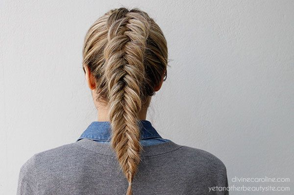 Inverted Fishtail Braid-- let's talk about how I CANNOT do this on myself. -K #hairgoals