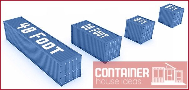 Shipping Container Sizes Shipping Container House Ideas Shipping Container Sizes Container House Shipping Container